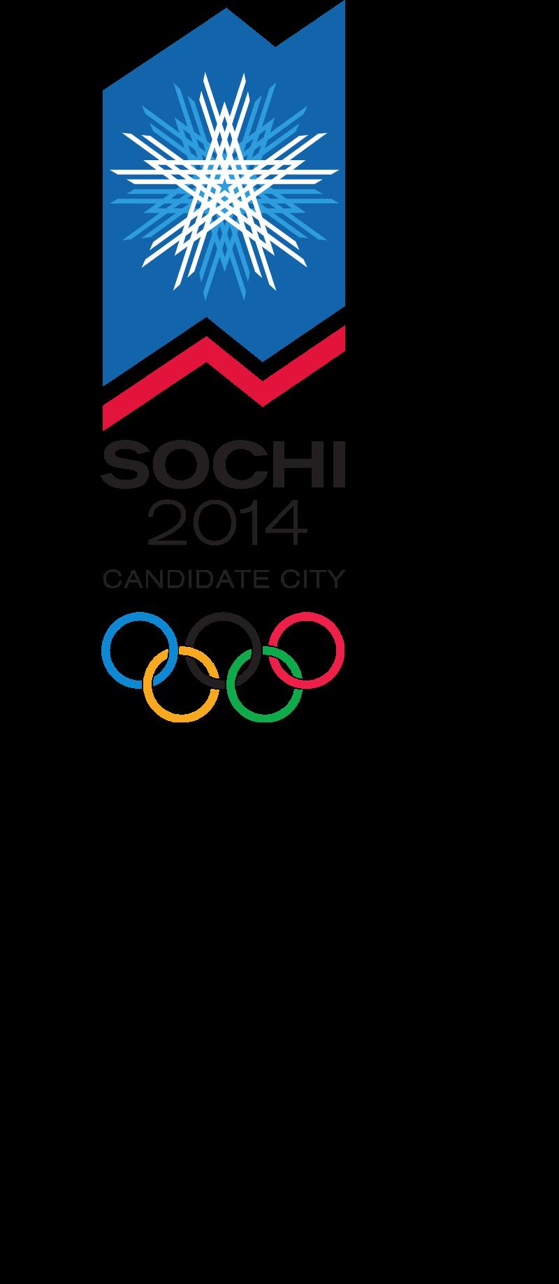 Sochi 2014 Winter Olympics vector
