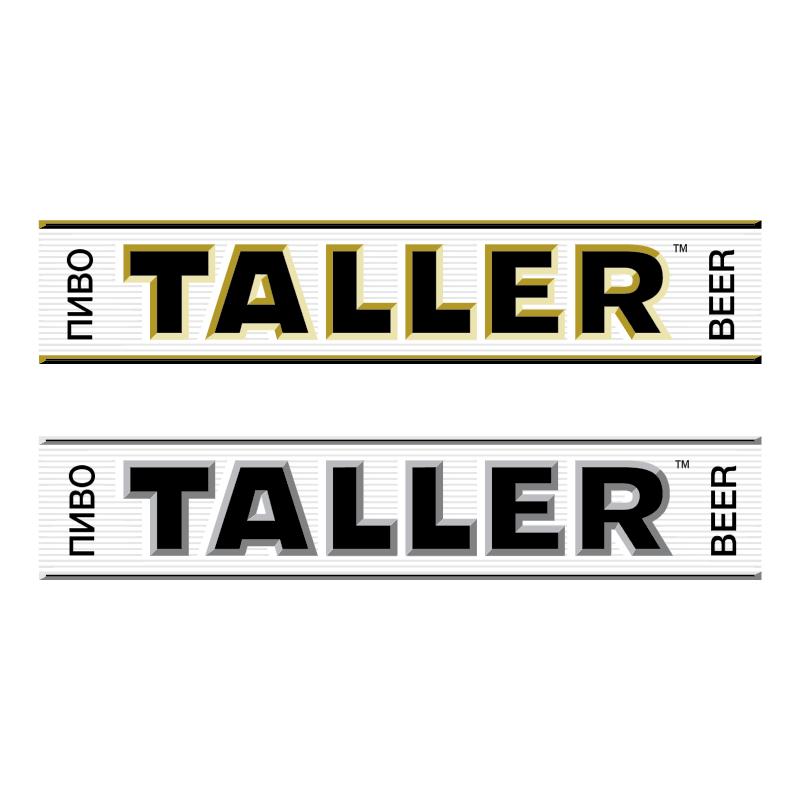 Taller Beer vector logo
