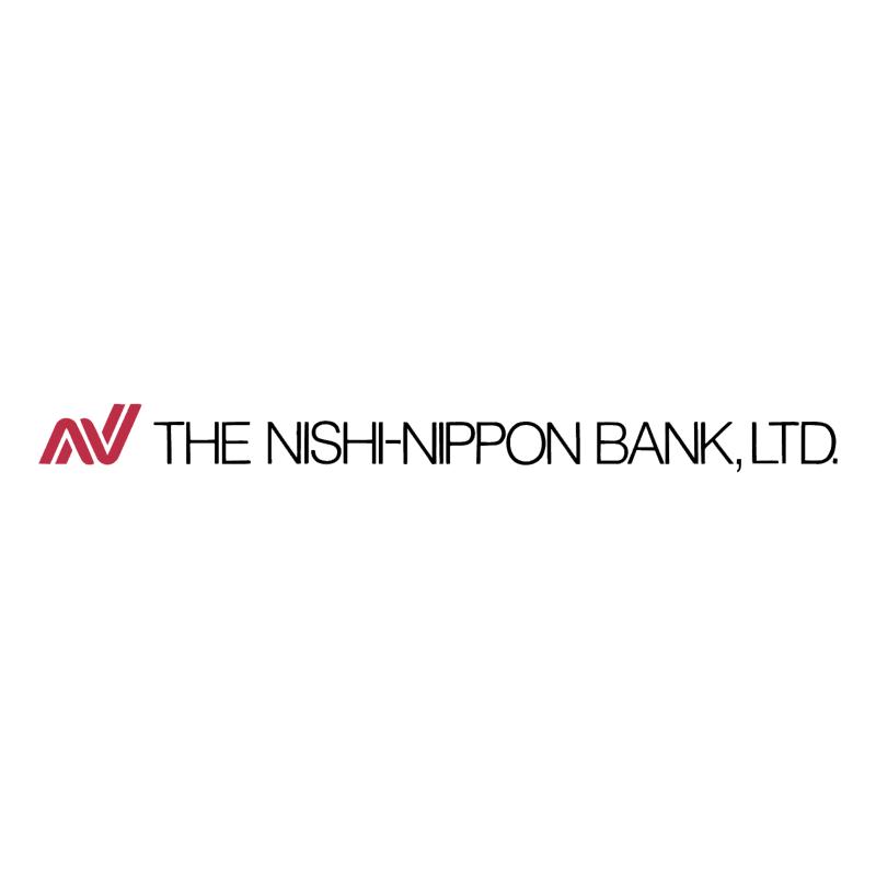 The Nishi Nippon Bank vector