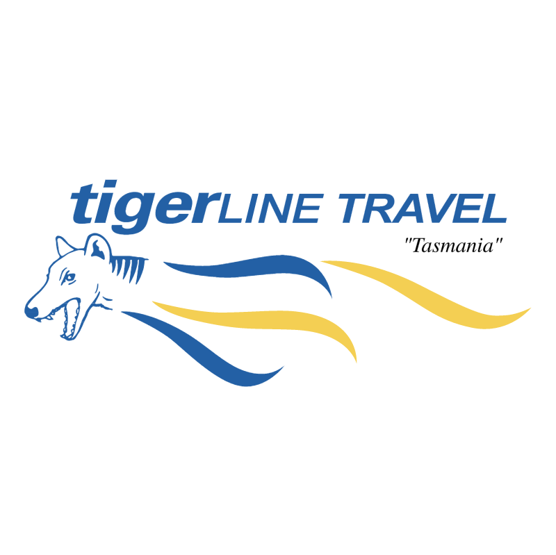 TigerLine Travel vector logo