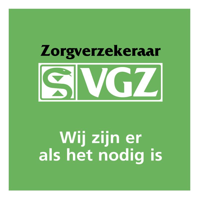 VGZ Zorgverzekeraar vector