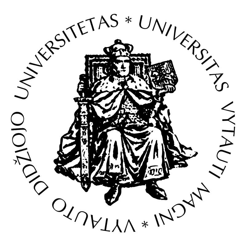Vytauto Didziojo Universitetas vector