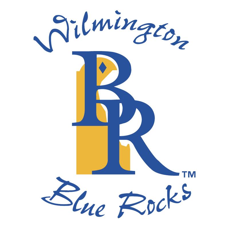 Wilmington Blue Rocks vector logo
