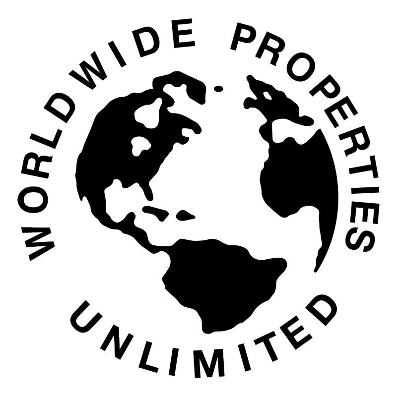 Worldwide Properties Unlimited vector logo