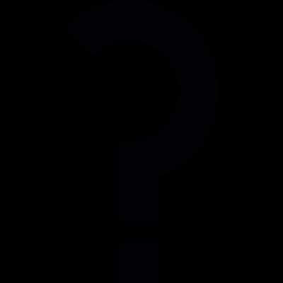 Question mark vector logo