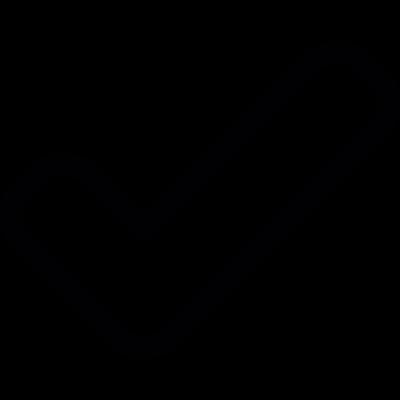 Checked symbol vector logo