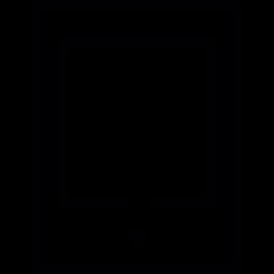 Rectangular tablet vector logo