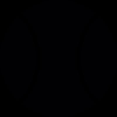 Big Tennis Ball vector logo