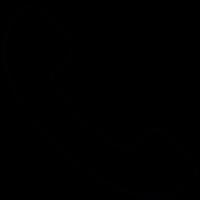 Outgoing call, IOS 7 interface symbol vector