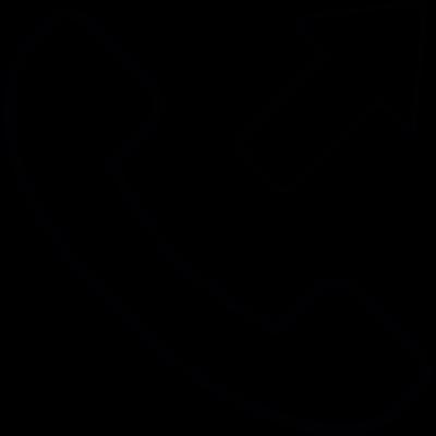 Outgoing call, IOS 7 interface symbol vector logo