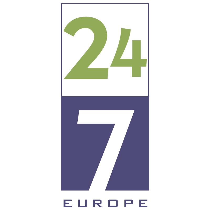 24 7 Europe vector