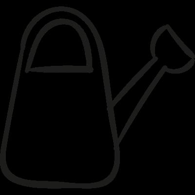 Garden Watering Can vector logo