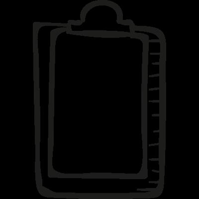 School Notepad vector logo