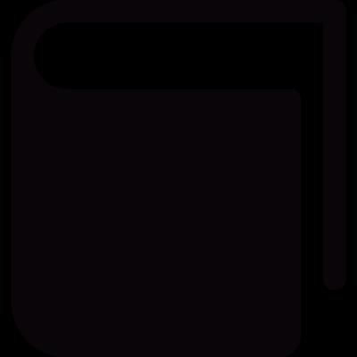 Hard Cover Book vector logo