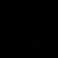 Man User with Circle Arrow vector
