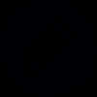 Paper clip Button vector