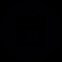 Calendar round vector