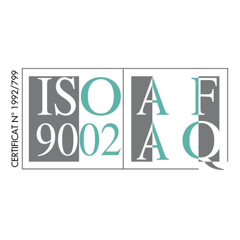 AFAQ ISO 9002 vector