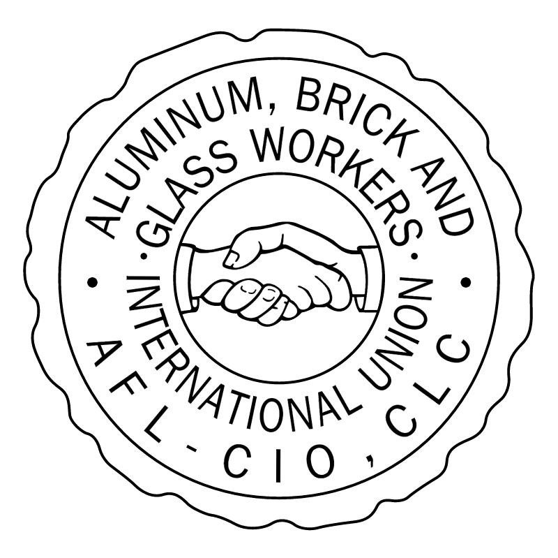 Aluminum, Brick And Glass Workers International Union 48364 vector