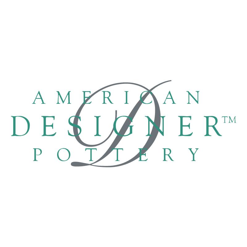 American Designer Pottery 62484 vector
