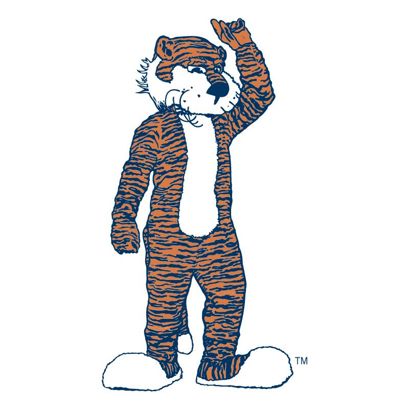 Auburn Tigers 75982 vector