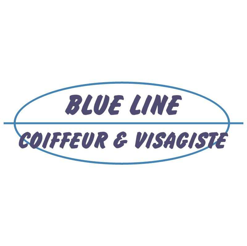 Blue Line vector