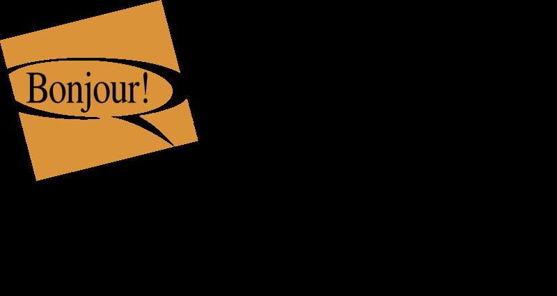 Bonjour Quebec logo vector