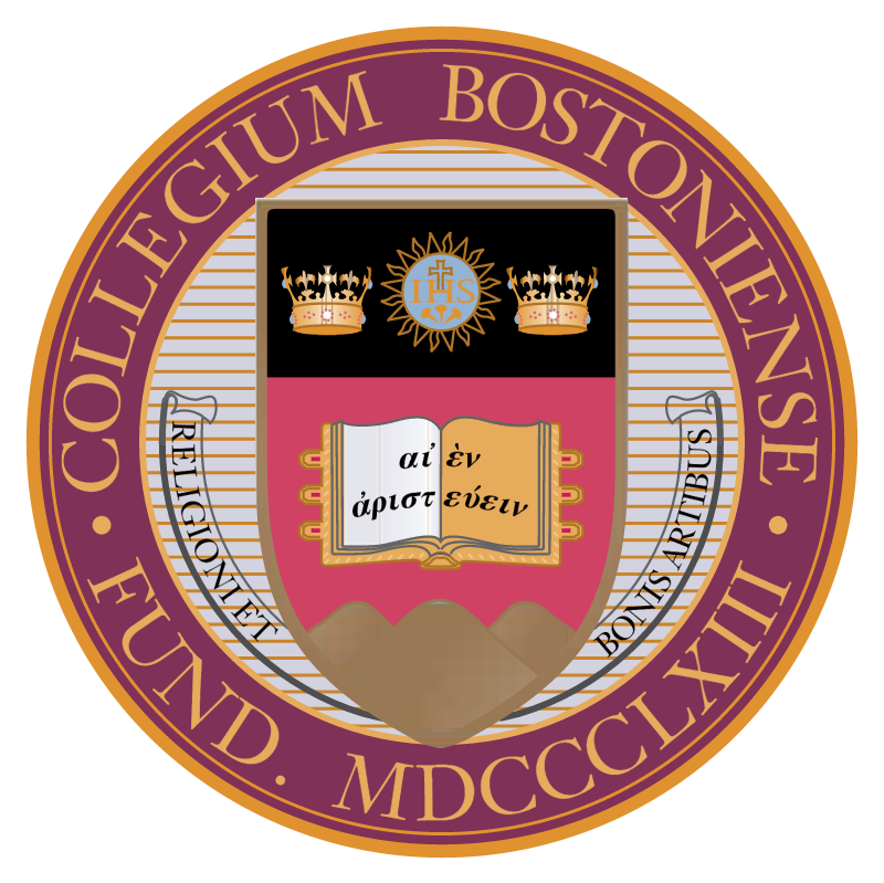 Boston College 25822 vector