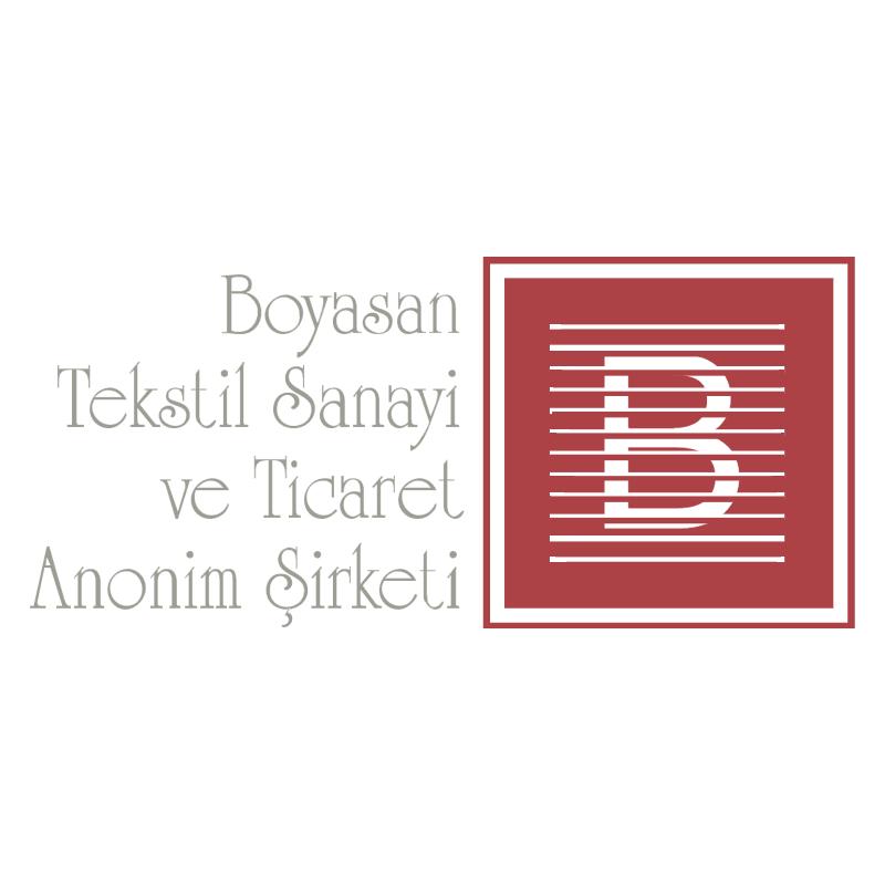 Boyasan Tekstil vector