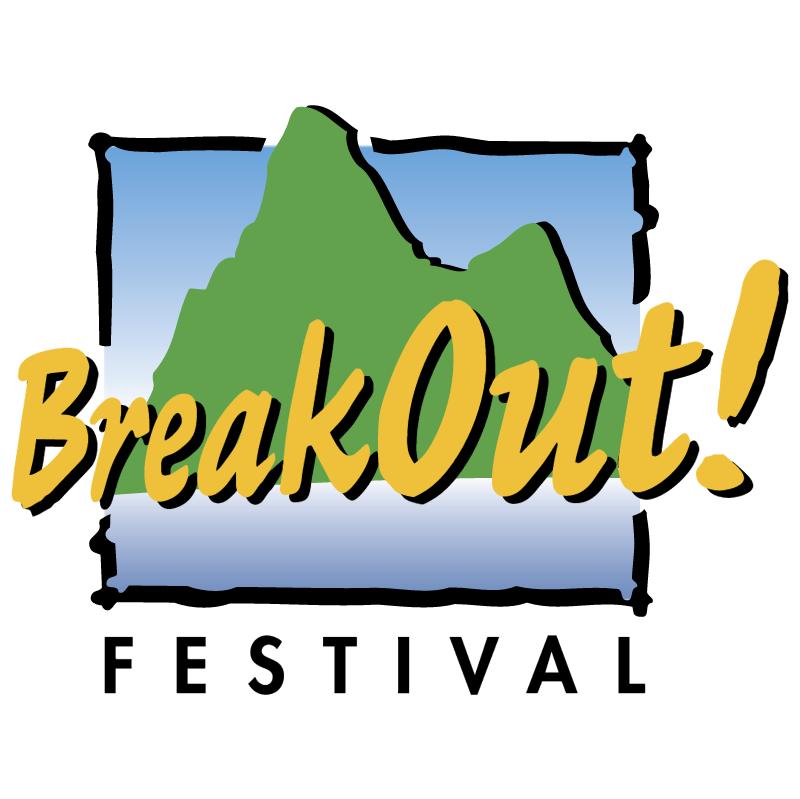 BreakOut! Festival vector