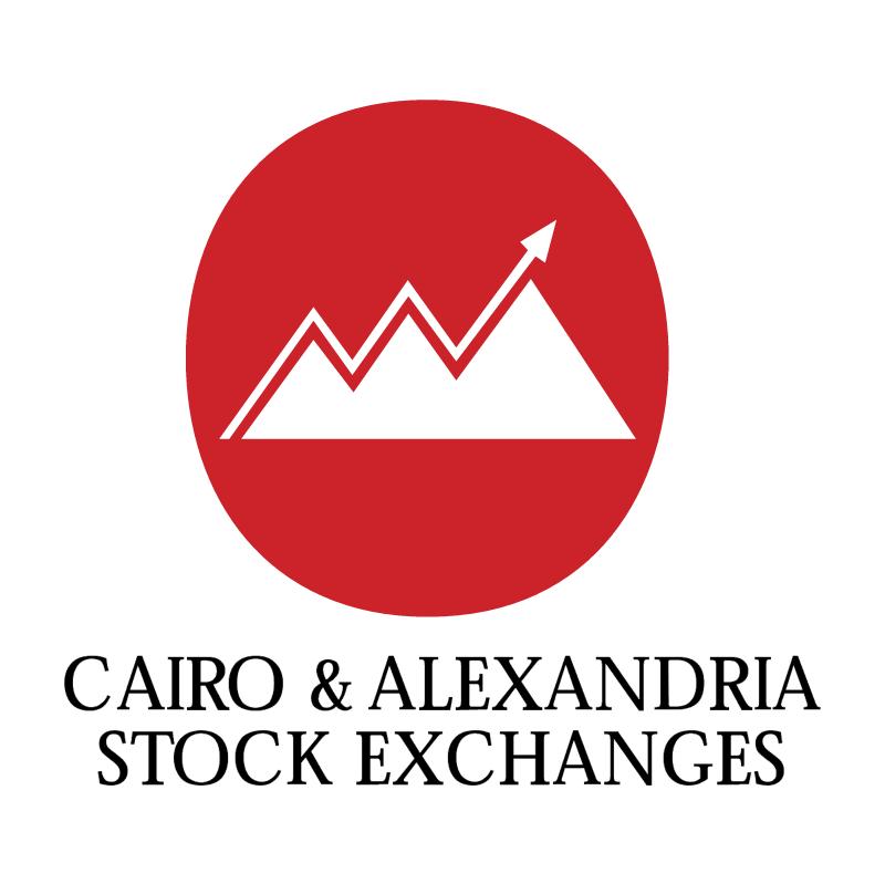 Cairo & Alexandria Stock Exchanges vector