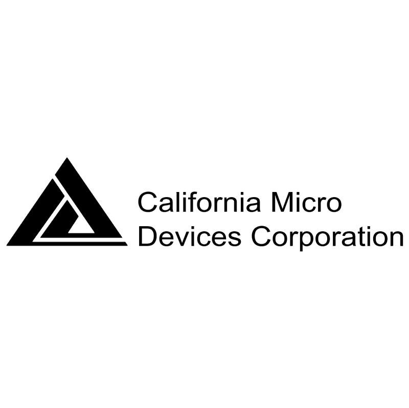 California Micro Devices vector logo