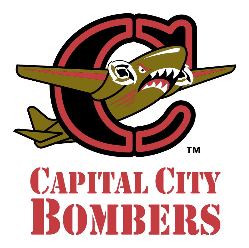 Capital City Bombers vector logo