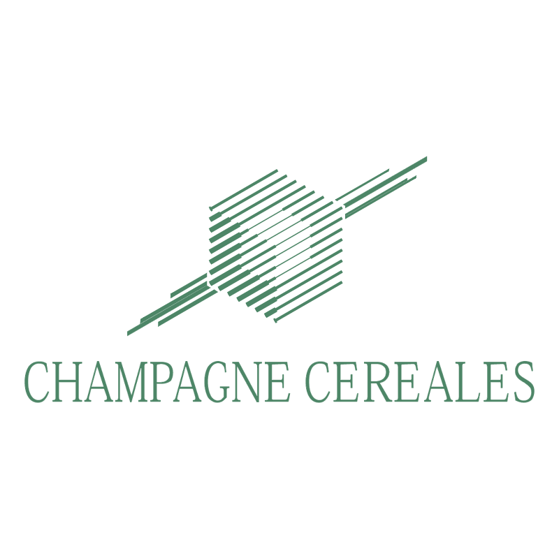 Champagne Cereales vector logo