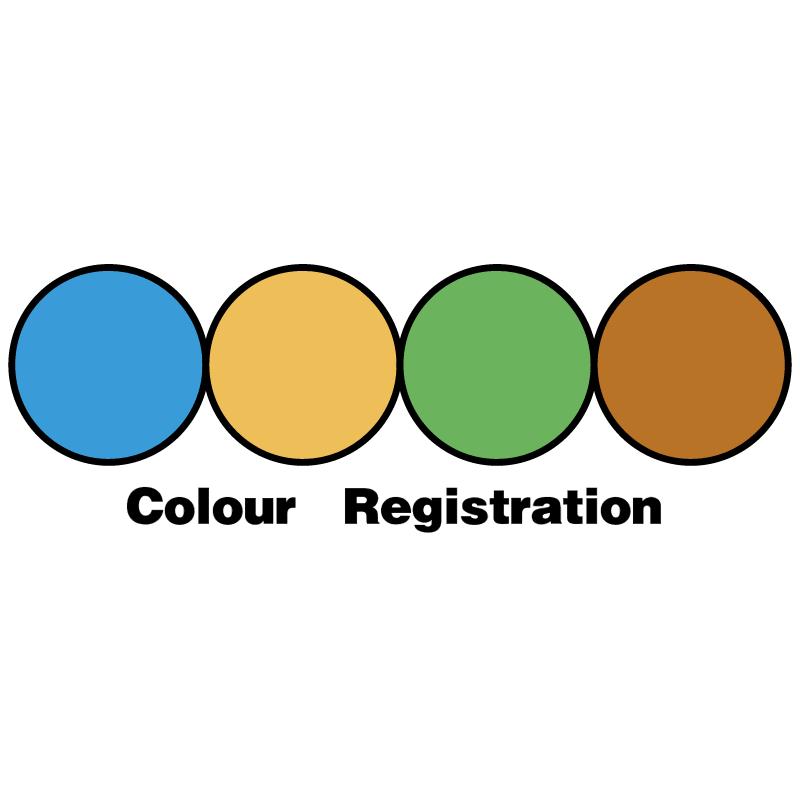 Colour Registration 6164 vector