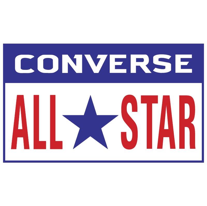 Converse All Star vector