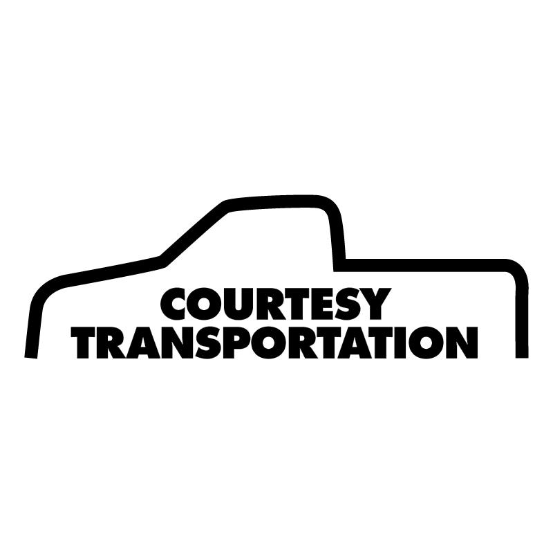 Courtesy Transportation vector