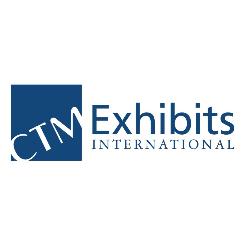 CTM Exhibits International vector logo