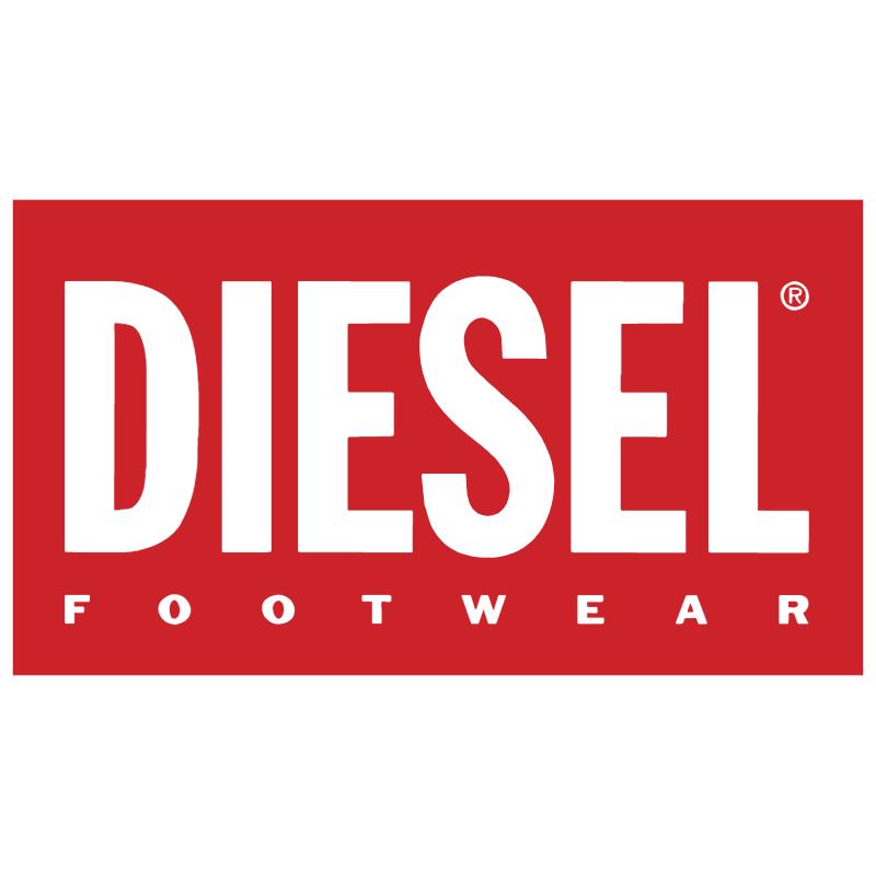 Diesel Footwear vector logo