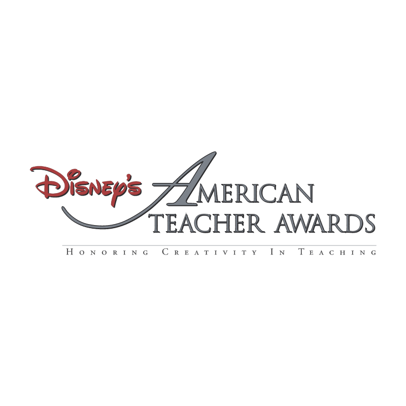 Disney's American Teacher Awards vector