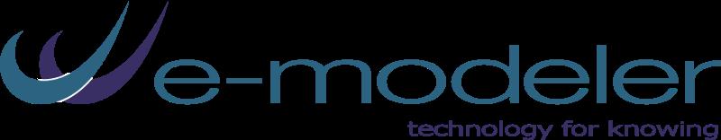 e modeler vector logo