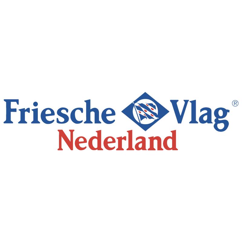 Friesche Vlag Nederland vector