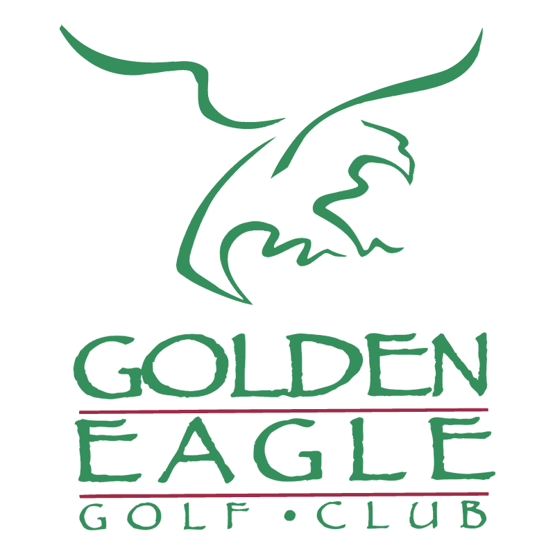 Golden Eagle Golf Club vector logo