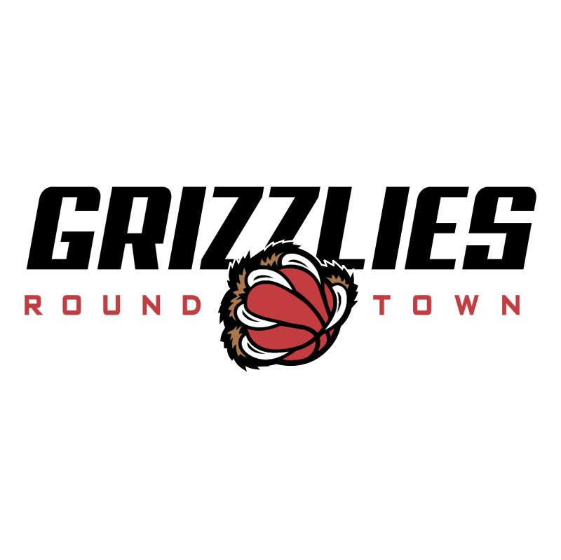 Grizzlies Round Town vector logo