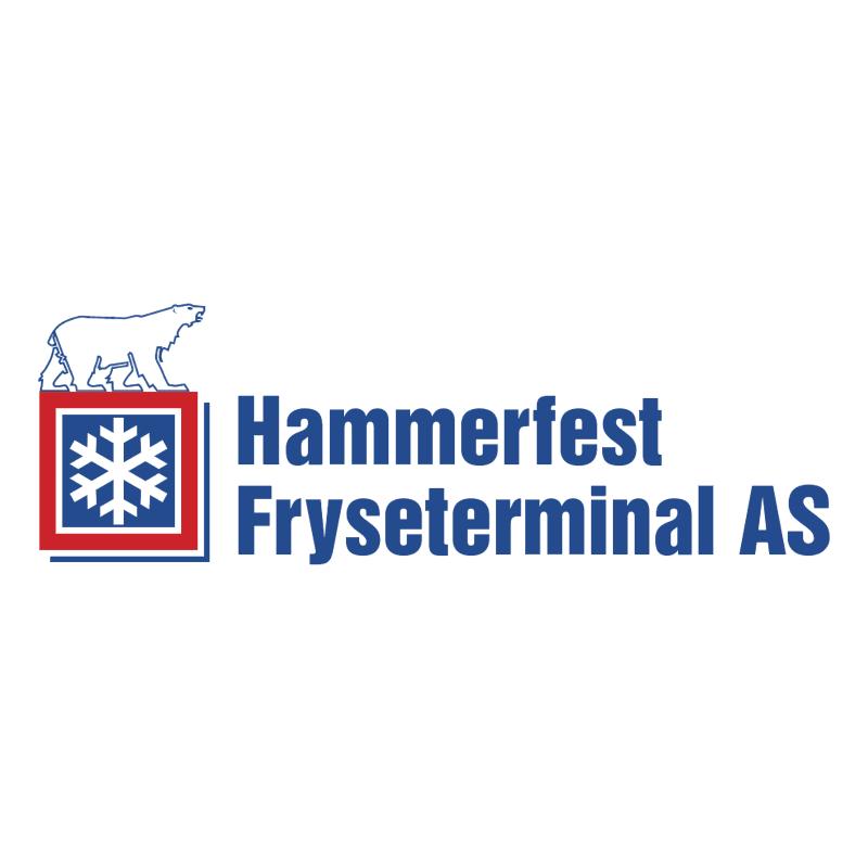 Hammerfest Fryseterminal vector logo