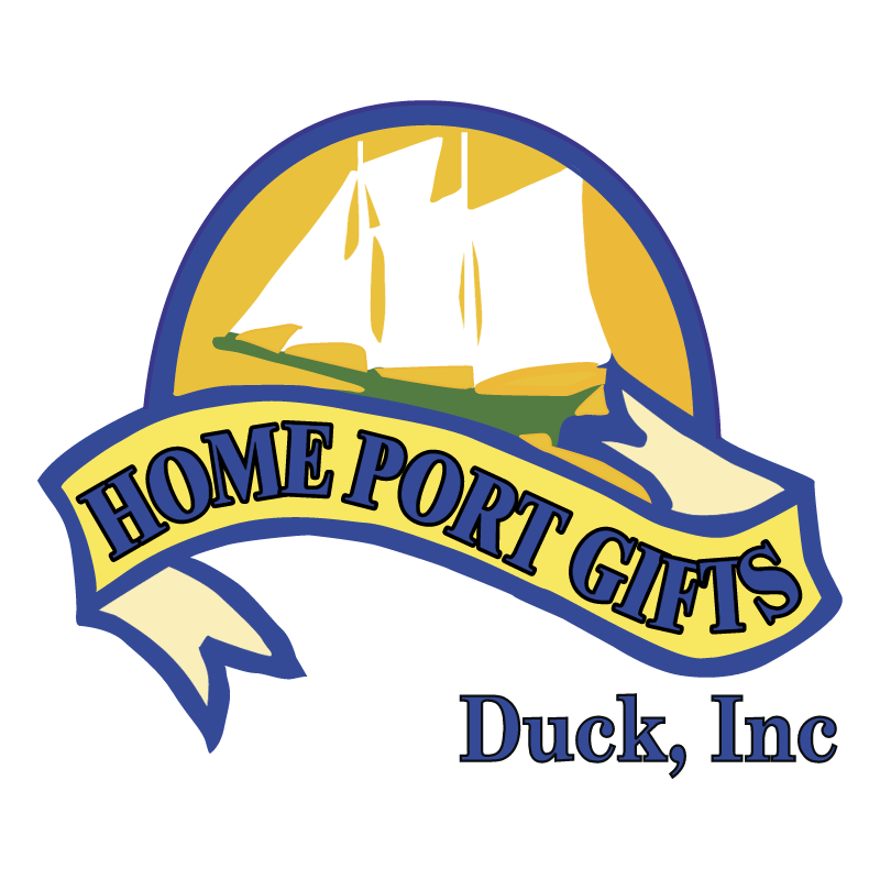 Home Port Gifts vector