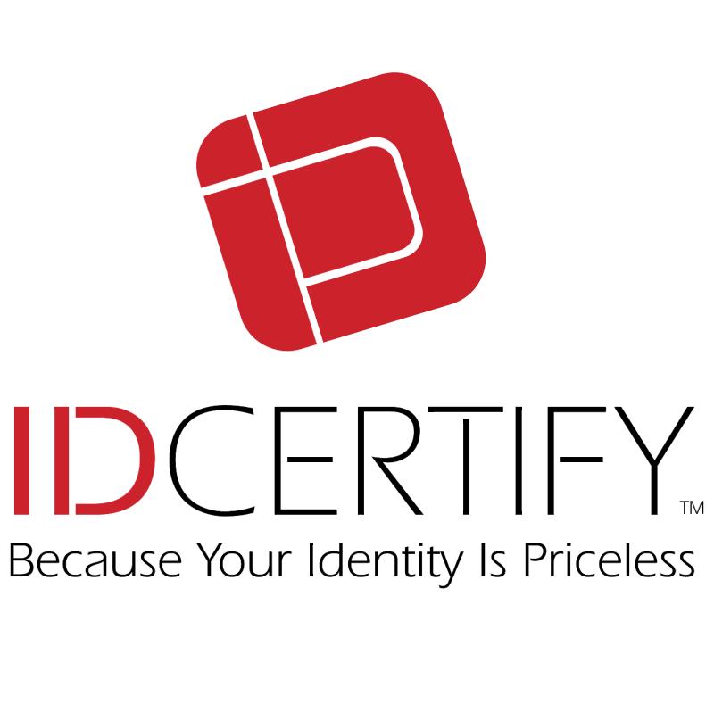 ID Certify vector