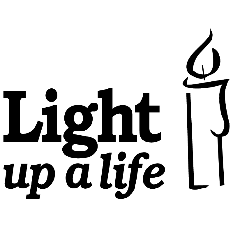 Light up a life vector