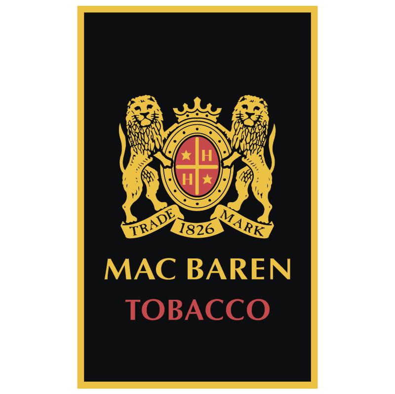 Mac Baren Tobacco vector