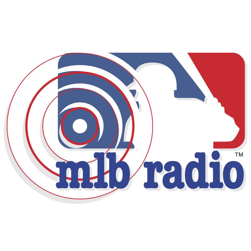 MLB Radio vector